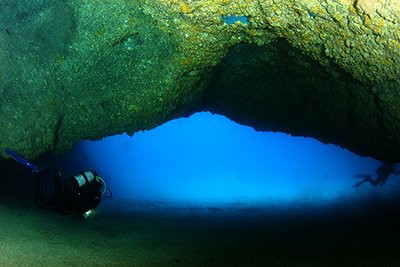 Palm Mar Cave dive sites