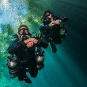sidemount diving tenerife