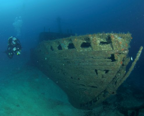 wreck specialty tenerife meridian diving
