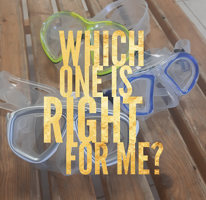 chosing the right mask for scuba diving