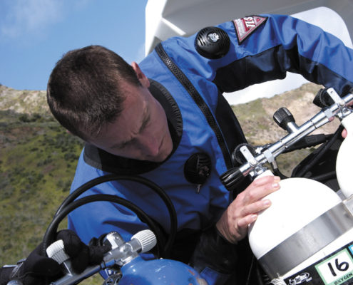 Technical Diving Gas