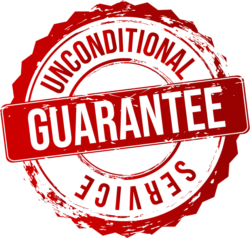 unconditional service guarantee
